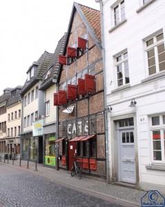 Häuserzeile in der Michaelstraße