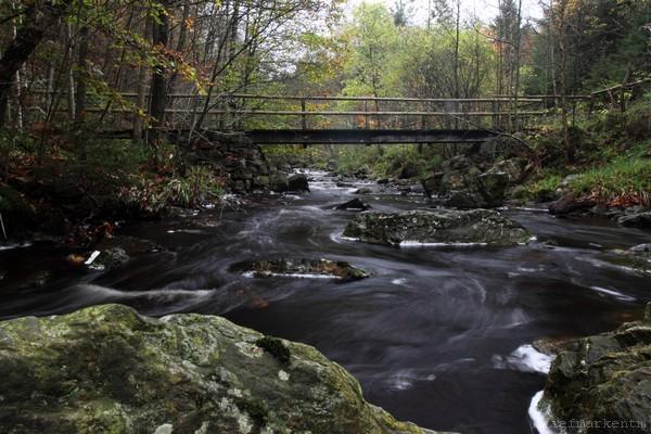 Fußgänger-Brücke über die Hoegne