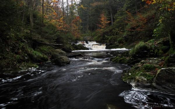 Wasserfall an der Hoegne